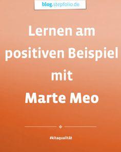 Am besten lernt es sich anhand von positiven Beispielen. Wie diese bei Marte Meo Verwendung finden, erklärt Dr. Christian Hawellek, Leiter des Norddeutschen Marte Meo Insituts. #MarteMeo #Kinder #Erzieher #Pädagogik #FrühkindlicheBildung #Erziehung
