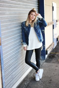 outfit mit jeansjacke 01