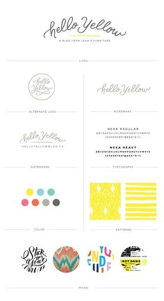 Hello Yellow Branding, an interior design blog || Pinegate Road