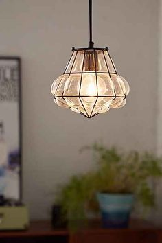 Magical Thinking Blown Glass Pendant Light - Urban Outfitters