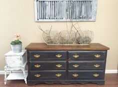 A personal favorite from my Etsy shop https://www.etsy.com/listing/266307872/dresser-entertainment-center