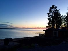 Midnight sun in Finland Midnight Sun, Finland, Celestial, Explore, Sunset, Country, Travel, Outdoor, Beautiful