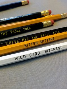 Always Sunny Inspired Funny Pencil 12 Pack by Earmark Social