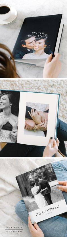 This is the book that started it all. Designed by photographers for the photographer in everyone, the Hardcover Photo Book from @artifactuprsng features 100% recycled interior pages, editorial cover designs and premium fabrics.