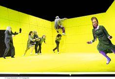 """theatre zurich - Durrenmatt's """"The Physicists"""" at the Zurich Schauspielhaus in 2013 (photo by Tanja Dorendorf) Set Design Theatre, Stage Design, Friedrich Dürrenmatt, The Wedding Singer, Theatre Stage, Stage Set, Scenic Design, Stage Lighting, World"""