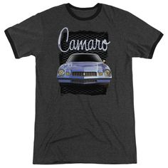 Now available in our store Short Sleeve Heat.... Check it out here! http://everythinglicensed.com/products/short-sleeve-heather-ringer-t-shirt-chevrolet-yellow-camaro-adult-slim-fit?utm_campaign=social_autopilot&utm_source=pin&utm_medium=pin