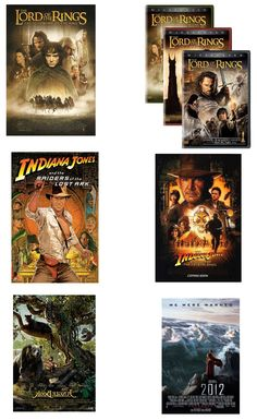 Voorbeelden van bestaande films