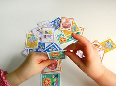 Vintage-inspired printable postage stamps.