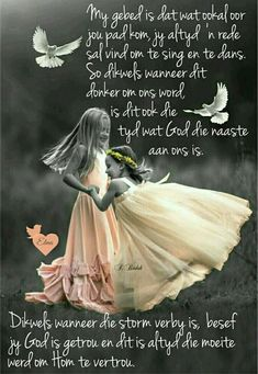 """""""God is getrou en dit is altyd die moeite werd om Hom te vertrou"""" Good Morning Messages, Good Morning Quotes, Bible Study Notebook, Mother Daughter Quotes, Afrikaanse Quotes, Scrapbook Quotes, Goeie More, Christian Messages, Morning Inspirational Quotes"""