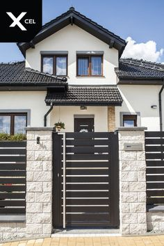 Modern House Fence and Gate Lovely Moderne Villen Miamidream House Hausstile Architektur House Fence Design, Fence Gate Design, Front Gate Design, Main Gate Design, Door Design, Exterior Design, Garden Design, Gate Designs Modern, Modern Fence Design