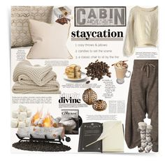 """""""Cabin staycation"""" by mood-chic ❤ liked on Polyvore featuring See by Chloé, Vivienne Westwood, Chicwish, Dot & Bo, Arco, Mason Cash, Bedroom Athletics, women's clothing, women's fashion and women"""