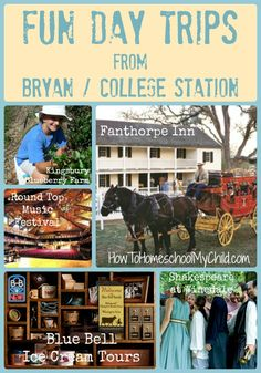 Staycation in Bryan/College Station, Texas {Fun Things to Do in Texas}  from How to Homeschool My Child.com