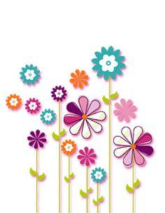 Art Floral, Vintage Floral, Beach Rock Art, Art Fantaisiste, Art Carte, Hippie Flowers, Mosaic Patterns, Coloring Book Pages, Diy Arts And Crafts