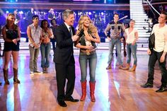 See photos of Julianne Hough's return to 'Dancing With The Stars' and performances by Blake Shelton and Susan Boyle. Julianne Hough Footloose, Blake Shelton, Dancing With The Stars, Champion, Dance, Dancing