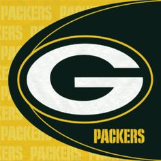 Hallmark Green Bay Packers Lunch Napkins (16) For the grooms cake table