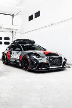 Audi RS6 DTM: Obviously, daddy likes.
