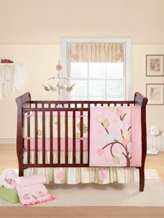 Babies bedroom sets best best crib bedding sets images on nursery babies ba Baby Bedroom Sets, Baby Bedding Sets, Crib Sets, Girls Bedroom, Girl Rooms, Kohls Bedding, Bed Sets, Baby Rooms, Master Bedroom