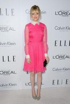 Pink   Rosa   Emma Stone    http://cademeuchapeu.com/