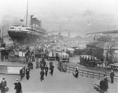 Pier Head during WW2