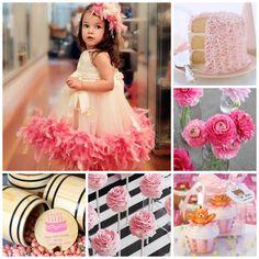 Haz sentir a tu niña como una princesa en su fiesta de cunmpleaños. Girly Pink…