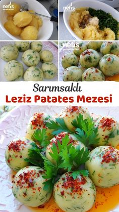 Turkish Recipes, Ethnic Recipes, Turkish Breakfast, Turkish Delight, Baked Potato, Potato Salad, Sandwiches, Good Food, Appetizers