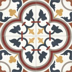 """<p style=""""font-size: 13px;"""">Moroccan Handmade Encaustic Cement Tile. Can be used inside, outside, floors, walls etc. Suitable for public areas, outdoor patio areas. Beautiful vibrant colours, perfect for conservatories, sun rooms, kitchen walls, floors, bathrooms, etc. Colours will not fade.<br></p><p style=""""font-size: 13px;"""">N.B. Tiles will require sealing.</p><p style=""""..."""