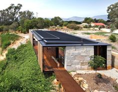 Industrial modern Sawmill House is built from recycled concrete blocks | Inhabitat - Green Design, Innovation, Architecture, Green Building