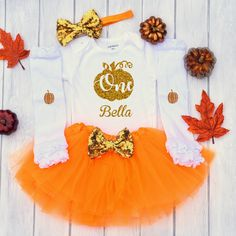Cutest Pumpkin in the Patch, Halloween Outfit, Baby First Halloween Outfit, Baby Girl Fall Clothes, Thanksgiving Outfit for girls 1st Birthday Girl Dress, Fall First Birthday, Baby First Halloween, 1st Birthday Outfits, Halloween Outfits, Halloween Shirt, Halloween Clothes, Girl Halloween, Halloween Design