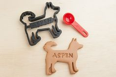 Husky Dog Cookie Cutter Siberian Husky  Custom by NameThatCookie, $18.00