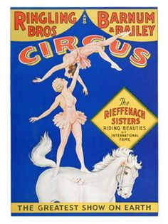 All kinds of Circus Posters