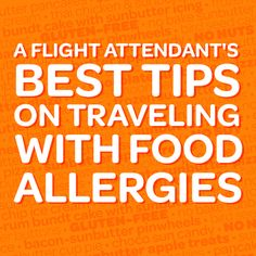 How to Travel with Food Allergies (advice from a mom & flight attendant) « SunButter