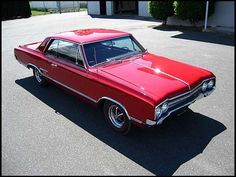 1965 Oldsmobile Cutlass Coupe My favorite friends car. Way back when, things were so awesome.