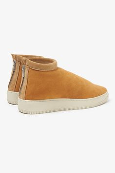STRANGER MOUTON TRAINER SHEEP LEATHER | SNEAKERS | COVERCHORD