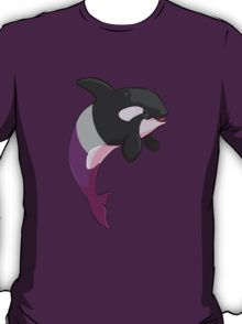 Asexuwhale - no text T-Shirt