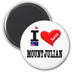 MOUNT JULIAN - I Love Magnet  $4.05  by australialovers  - cyo customize personalize unique diy