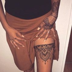 Prêtes à succomber au tatouage dentelle ?