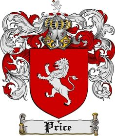 Price Family Crest / Price Coat of Arms