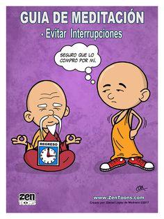 AFICHE ZENTOONS 04. Guía de Meditación. #zentoons #webcomics #zencomics #cuentoszen #historiaszen #zenpencil #espiritualidad #zen #budismo