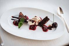 Dessert, Schokolade, Schoko, Eis, Kirschen, Hotel Hohenwart, Reise, lecker, Südtirol, kulinarische Reise, Reisen