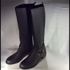 Brand new Kenneth Cole Reaction boots. At an unbeatable price brand new Kenneth Cole Reaction boots.features a buckle. Part of the shaft is elastic for ease of use. Kenneth Cole Reaction Shoes Heeled Boots