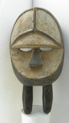 Antique African Kwele Festival Mask