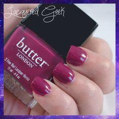 butter LONDON: Queen Vic | lacqueredgeek.com