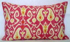 Kantha Vintage Pillow Cushion Cover Throw Ethnic Ikat Decorative Indian Textile   eBay