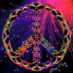 Hippie Peace, Happy Hippie, Hippie Love, Hippie Art, Hippie Style, Hippie Chic, Peace Love Happiness, Peace And Love, Peace Sign Art