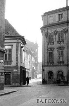 Bratislava Slovakia, Old Street, Old City, Squares, Postcards, Nostalgia, Louvre, Times, Building