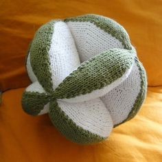 Ravelry: Project Gallery for Knit Amish Puzzle Ball pattern by Dedri Uys