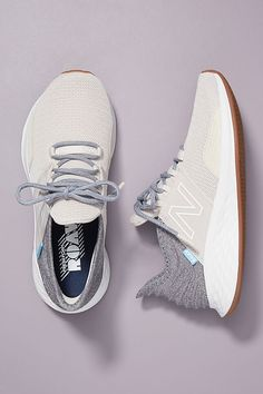 New Balance Fresh Foam Roav Sneakers by in White Size: at Anthropologie New Balance Sneakers, New Balance Shoes, New Balance Clothing, Moda Sneakers, New Balance Fresh Foam, New Balance White, Athletic Gear, Athletic Shoes, Plate