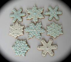 snowflake cookies: Have A Cookie!