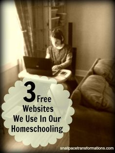 3 Free Websites We Use in Our Homeschooling 3 FREE educational websites to use in your HOMESCHOOLING day. Also great for homework help. Learning Apps, Kids Learning, Best Educational Websites, Educational Crafts, Homeschool Apps, School Fun, School Stuff, High School, School Resources