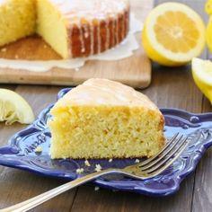 Lemon Cornmeal Olive Oil Cake - memories of Italy...